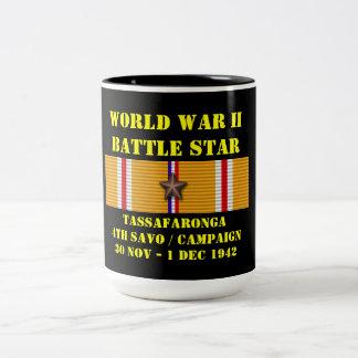 Tassafaronga (fjärde Savo) kampanj Kaffe Koppar