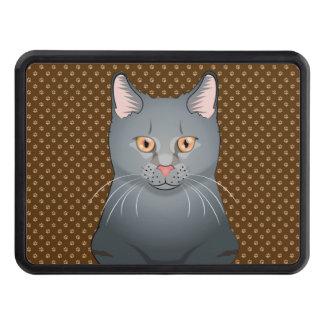 Tassar för Korat katttecknad Skydd För Dragkrok