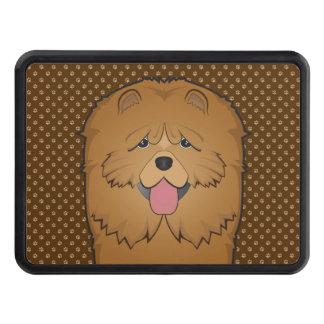 Tassar för tecknad för hund för ChowChow Dragkroksskydd