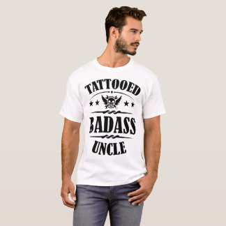 TATUERAD BADASS-UNCLE TSHIRTS