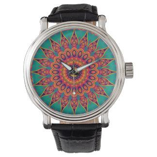 TatueringKaleidoscopeFractal Armbandsur