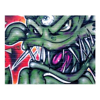 Taurian - ond grafitti för vykort
