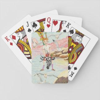 Tävla fiskmåsarna spelkort