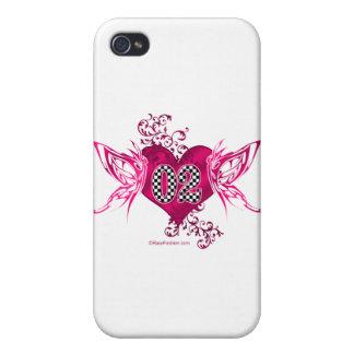 tävling 02 numrerar fjärilar iPhone 4 skal