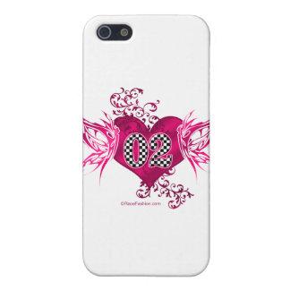 tävling 02 numrerar fjärilar iPhone 5 fodraler