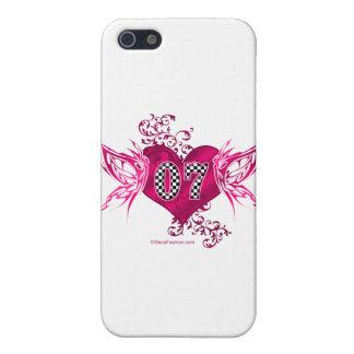tävling 07 numrerar fjärilar iPhone 5 fodraler