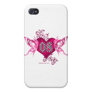 tävling 08 numrerar fjärilar iPhone 4 cases
