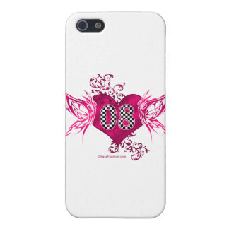 tävling 08 numrerar fjärilar iPhone 5 fodral