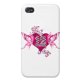 tävling 12 numrerar fjärilar iPhone 4 skal