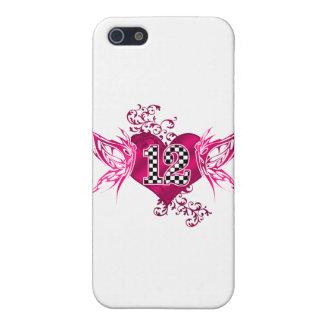 tävling 12 numrerar fjärilar iPhone 5 cover