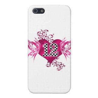tävling 12 numrerar fjärilar iPhone 5 skal