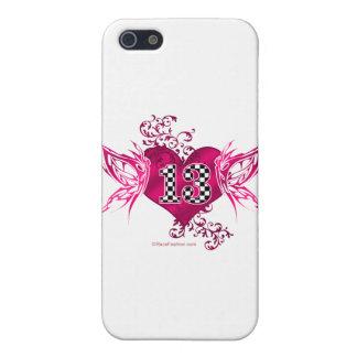 tävling 13 numrerar fjärilar iPhone 5 fodral