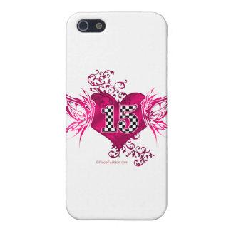 tävling 15 numrerar fjärilar iPhone 5 skal