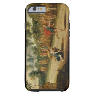 Tävlingen av Atalanta och Hippomenes (olja på Tough iPhone 6 Fodral
