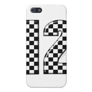 tävlingen numrerar 12 iPhone 5 cases
