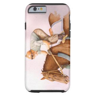 Tävlinghäst och Jockey Tough iPhone 6 Fodral