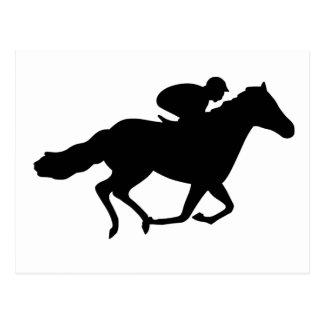 Tävlinghäst Vykort