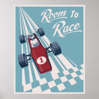 Tävlings- affisch för barn poster