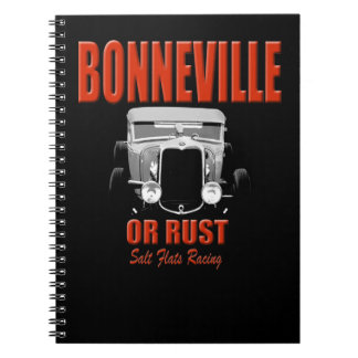 tävlings- bonneville salt lägenheter anteckningsbok