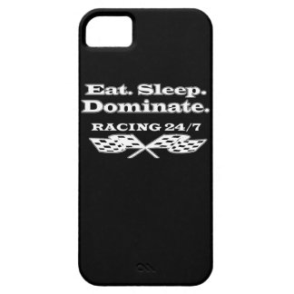 Tävlings- designiphone case för Eat.Sleep.Dominate iPhone 5 Case-Mate Cases
