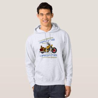 Tävlings- drömavbrytarstil sweatshirt med luva