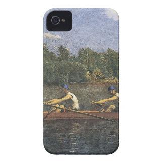 Tävlings- Thomas Eakins Biglin bröder Case-Mate iPhone 4 Fodral