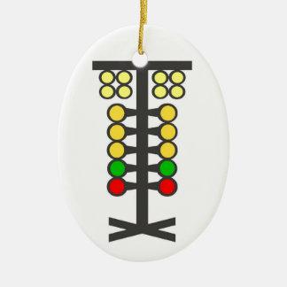 Tävlings- trädprydnad för friktion julgransprydnad keramik