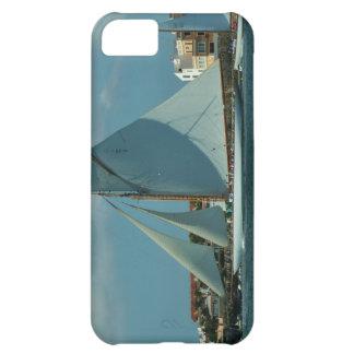 Tävlings- yacht för klassiker iPhone 5C mobil fodral