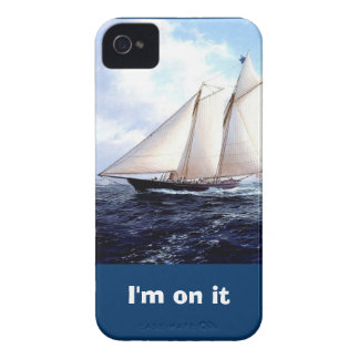 Tävlings- yacht på havet Case-Mate iPhone 4 cases