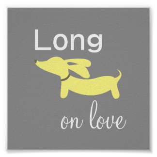 Tax Long på tryck för affisch för kärlekväggkonst