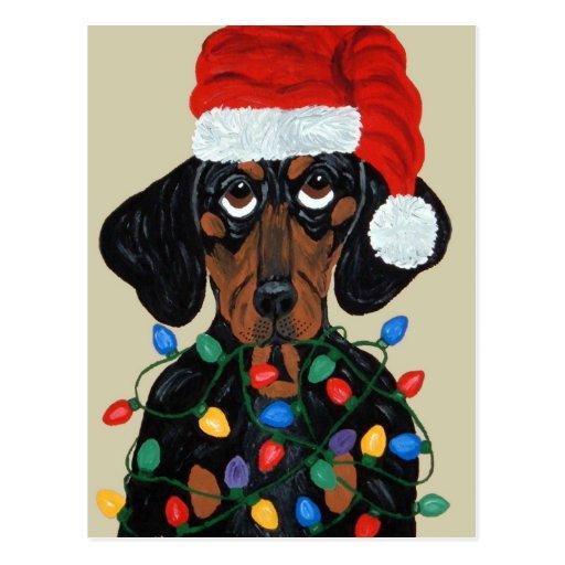 Taxen Santa trasslade till i julljus