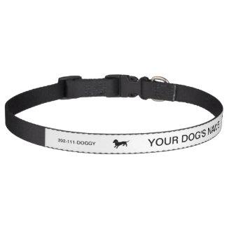 Taxteckning Halsband Husdjur