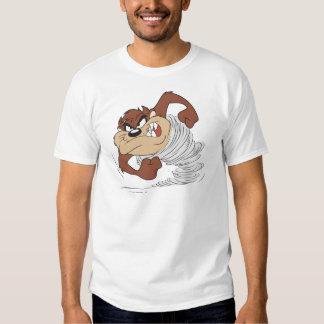 TAZ™-snurret fastar T-shirts