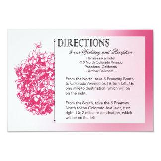 :: TBA:: Barocka Flowerball bröllopriktningar 8,9 X 12,7 Cm Inbjudningskort