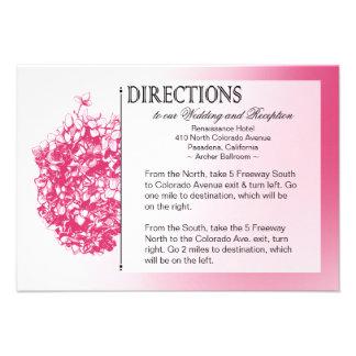 :: TBA:: Barocka Flowerball bröllopriktningar Inbjudan