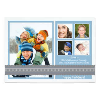 {TBA} Beställnings- helgdagkort för modernt band 12,7 X 17,8 Cm Inbjudningskort