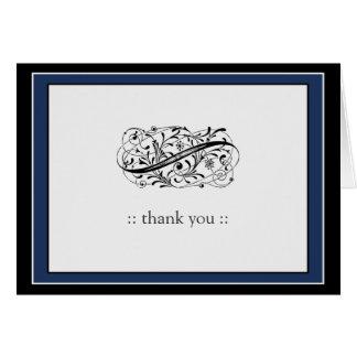 {TBA} Enkelt elegantt beställnings- tack OBS Kort