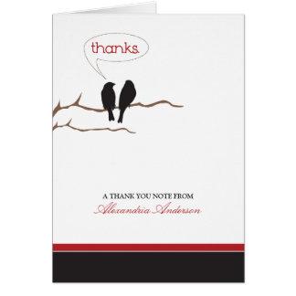 {TBA} Göra en birdie lite det beställnings- tackko Kort