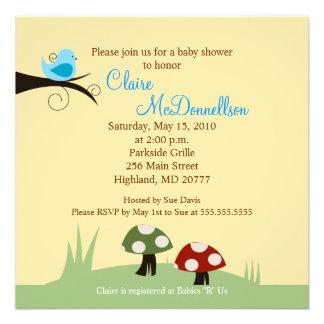 {TBA} Inbjudan för baby shower för pippiskogsmark