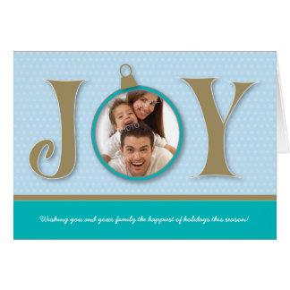 {TBA} Kort för helgdag för helgdagglädjefamilj