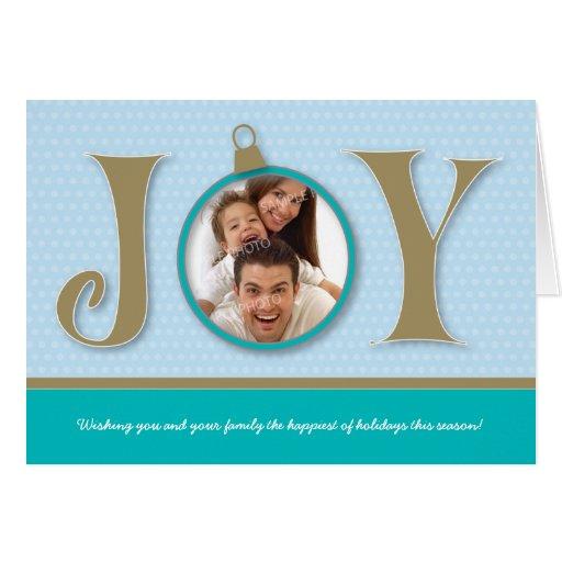 {TBA} Kort för helgdag för helgdagglädjefamilj (aq
