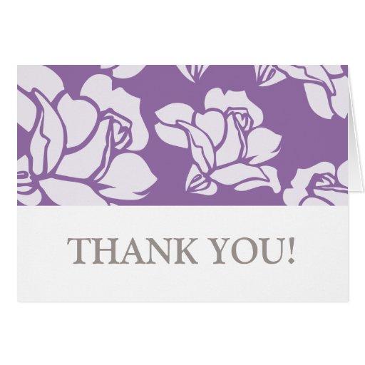 (TBA) Steg det trädgårds- tackkortet Hälsningskort