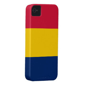 Tchad flagga iPhone 4 Case-Mate cases