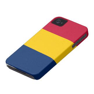 Tchad flagga iPhone 4 Case-Mate fodral