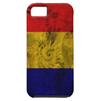 Tchad flagga iPhone 5 Case-Mate fodraler