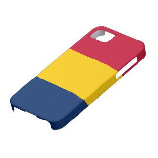 Tchad flagga iPhone 5 Case-Mate skal