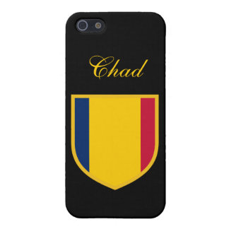 Tchad flagga iPhone 5 cover