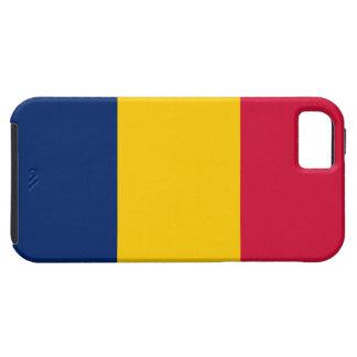 Tchad flagga iPhone 5 fodral