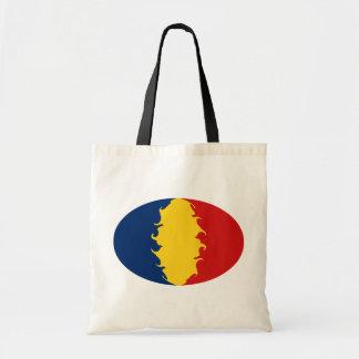 Tchad hänger lös den Gnarly flagga Tote Bags