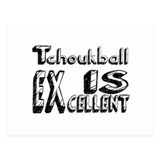 Tchoukball är utmärkt vykort